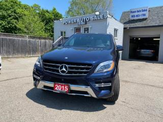 Used 2015 Mercedes-Benz ML-Class 4MATIC 4DR ML 400 for sale in Brampton, ON
