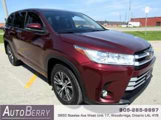 Used 2017 Toyota Highlander LE - AWD - 3.5L - 8 Passenger for sale in Woodbridge, ON