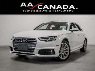 Used 2018 Audi A4 Progressiv for sale in North York, ON