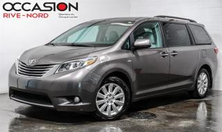Used 2017 Toyota Sienna XLE AWD 7-PASS NAVI+CUIR+TOIT.OUVRANT for sale in Boisbriand, QC