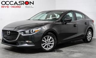 Used 2017 Mazda MAZDA3 GS-.SIÈGES.CHAUFFANTS+CAMÉRA.DE.RECUL+MAGS for sale in Boisbriand, QC