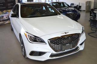 Used 2020 Genesis G80 3.3T Sport for sale in Richmond, BC