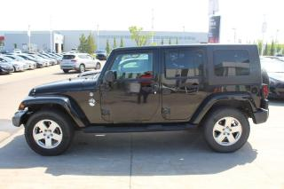 Used 2009 Jeep Wrangler Unlimited UNLIMITED SAHARA/POWEROPTIONS/HEATEDSEATS/AUTO for sale in Edmonton, AB