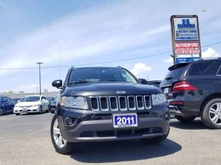 Used 2011 Jeep Compass North Edition low km No Accident Clean Carfax for sale in Brampton, ON