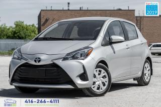 Used 2018 Toyota Yaris LE Low KM Keyless Entry PW PL Backup Camera for sale in Bolton, ON