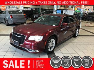 Used 2019 Chrysler 300 300 Touring - No Accident/Local/Pano Sunroof/Nav/Leather for sale in Richmond, BC