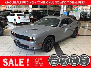 Used 2019 Dodge Challenger SXT PLUS - Accident Free / Local for sale in Richmond, BC