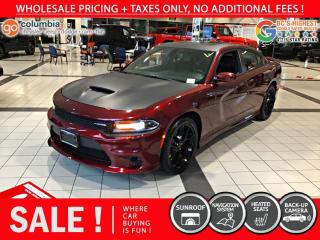 Used 2019 Dodge Charger GT Plus - Accident Free / Navigation for sale in Richmond, BC