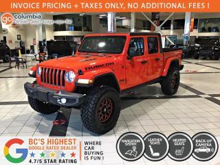 New 2020 Jeep Gladiator Rubicon for sale in Richmond, BC
