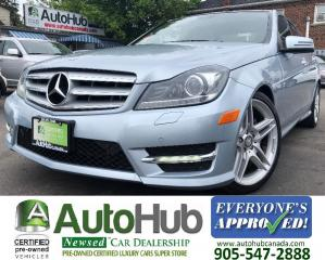 Used 2013 Mercedes-Benz C-Class C350-4MATIC-NAV-BACKUP CAMERA-PANORAMIC ROOF for sale in Hamilton, ON