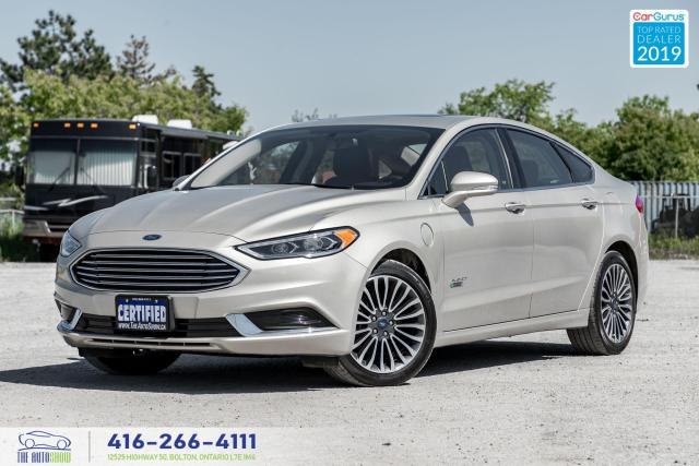 2018 Ford Fusion Titanum|Leather|Backup Cam|Bluetooth|Navi|Alloys