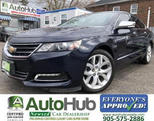Used 2018 Chevrolet Impala PREMIER-NAV-BACKUP CAMERA-PANORAMIC ROOF-LOADED for sale in Hamilton, ON
