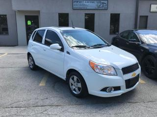 Used 2011 Chevrolet Aveo 5dr Wgn LT, SUNROOF !,BLUETOOTH !CERTIFIED for sale in Burlington, ON