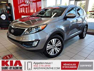 Used 2014 Kia Sportage ** EN ATTENTE D'APPROBATION ** for sale in St-Hyacinthe, QC