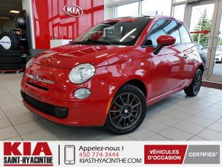 Used 2015 Fiat 500 Pop ** GR ÉLECTRIQUE + A/C for sale in St-Hyacinthe, QC