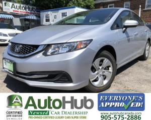 Used 2015 Honda Civic Sedan LX SPORT-HEATED SEATS-BLUETOOTH-BACKUP CAMERA for sale in Hamilton, ON