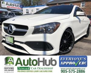 Used 2017 Mercedes-Benz CLA-Class 250-4 MATIC-SUNROOF-NAV-BACKUP CAMERA-LEATHER-APPLE CARPLAY for sale in Hamilton, ON