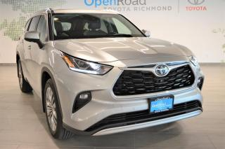 Used 2020 Toyota Highlander LIMITED AWD for sale in Richmond, BC