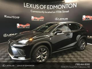 New 2020 Lexus NX 300 F Sport Series 1 for sale in Edmonton, AB