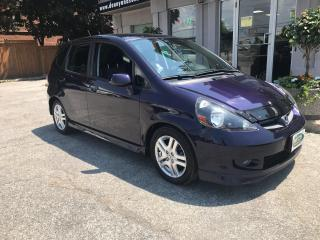 Used 2008 Honda Fit Sport for sale in Mississauga, ON