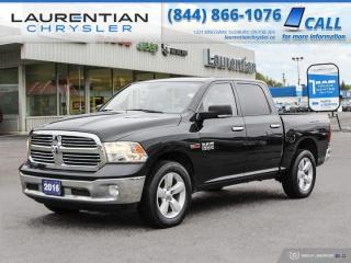 Used 2016 RAM 1500 SLT!!  BACKUP CAMERA!!  CREW CAB!!  4WD!! for sale in Sudbury, ON