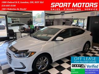 Used 2017 Hyundai Elantra GL+Apple Play+A/C+Camera+Accident Free for sale in London, ON