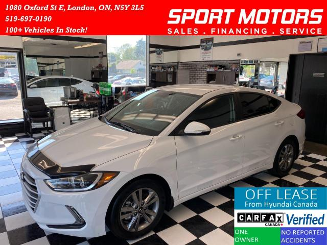 2017 Hyundai Elantra GL+Apple Play+A/C+Camera+Accident Free