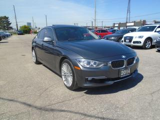 Used 2014 BMW 3 Series 328i xDrive AWD NAVIGATION SUNROOF NO ACCIDENT SAF for sale in Oakville, ON