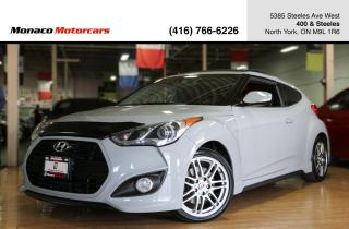 Used 2013 Hyundai Veloster TURBO M/T - PANOROOF|BACKUPCAM|NAVIGATION for sale in North York, ON