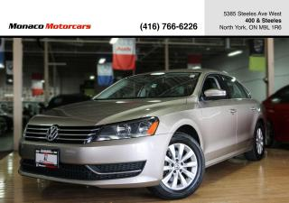 Used 2015 Volkswagen Passat 1.8 TSI - HEATED SEATS|BLUETOOTH|2xRIMS&TIRES for sale in North York, ON