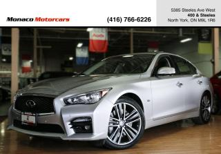Used 2017 Infiniti Q50 Q50 SPORT - 360CAM|SUNROOF|NAVI|TECH PKG|DRIVE AST for sale in North York, ON