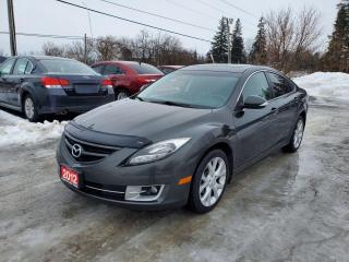 Used 2012 Mazda MAZDA6 GT LEATHER SUNROOF BACK UP CAMERA LOADED CERTIFIED for sale in Stouffville, ON