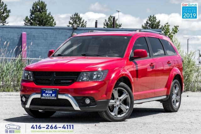 2016 Dodge Journey Crossroad|Low KM|Nav|Sunroof|AWD|Leather|Keyless