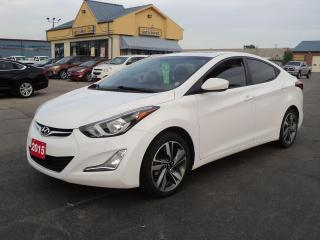 Used 2015 Hyundai Elantra GLS 2.0L BackUpCam HeatedSeats PowerSunRoof for sale in Brantford, ON