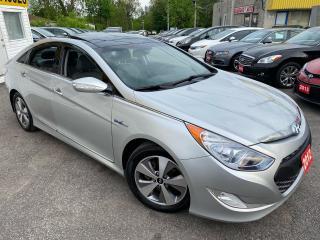 Used 2012 Hyundai Sonata HYBRID/ PREMIUM PKG/ LEATHER/ SUNROOF/ NAVI/ CAM++ for sale in Scarborough, ON