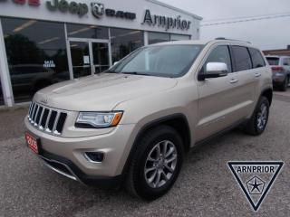 Used 2015 Jeep Grand Cherokee Limited for sale in Arnprior, ON