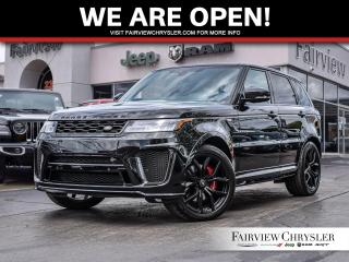 Used 2019 Land Rover Range Rover Sport V8 Supercharged SVR for sale in Burlington, ON