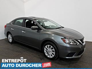 Used 2017 Nissan Sentra SV TOIT OUVRANT - A/C - Caméra de recul for sale in Laval, QC