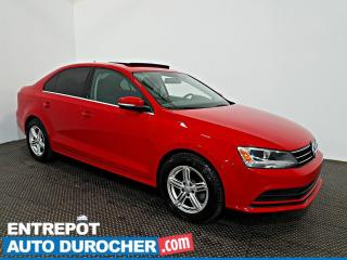 Used 2016 Volkswagen Jetta Sedan Trendline Toit Ouvrant - A/C - Caméra de Recul for sale in Laval, QC