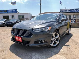 Used 2016 Ford Fusion SE for sale in Whitby, ON