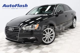 Used 2016 Audi A3 Progressiv Quattro *Push-Start *Camera Park-Sensor for sale in Saint-Hubert, QC