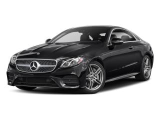 Used 2018 Mercedes-Benz E-Class E 400 4MATIC Coupe for sale in Mississauga, ON