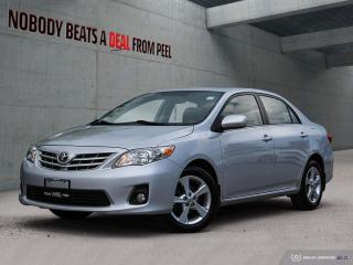 Used 2013 Toyota Corolla 4DR SDN AUTO LE for sale in Mississauga, ON