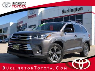 Used 2017 Toyota Highlander LIMITED  for sale in Burlington, ON