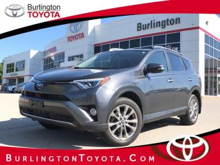Used 2016 Toyota RAV4 Hybrid Limited HYBRID for sale in Burlington, ON