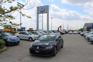 Used 2016 Volkswagen GTI 2.0L DSG Autobahn for sale in Whitby, ON