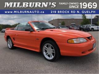 Used 1996 Ford Mustang GT Convertible for sale in Guelph, ON