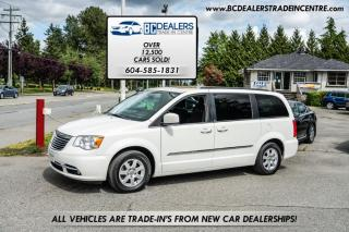 Used 2012 Chrysler Town & Country Touring, Navigation, Bluetooth, Power Doors, DVD, Loaded! for sale in Surrey, BC