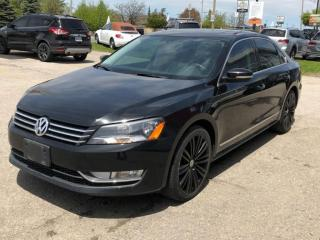 Used 2015 Volkswagen Passat 4dr Sdn 1.8 TSI Comfortline Leather Navigation, Camera for sale in Oakville, ON