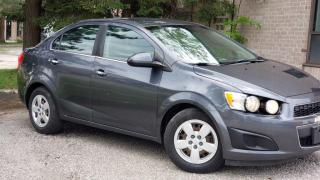 Used 2013 Chevrolet Sonic 4dr Sdn LT Auto for sale in Brampton, ON